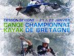 Canoë-kayak – Championnats de Bretagne Slalom dimanche 22 janvier 2017