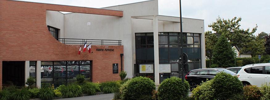 La mairie annexe ville de cesson s vign for Cesson sevigne piscine