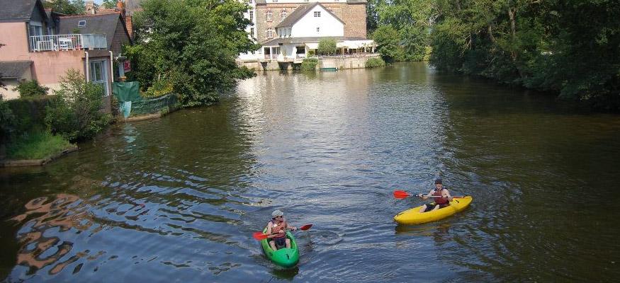 Canoë Kayak sur la Vilaine Cesson-Sévigné (Rennes Bretagne)