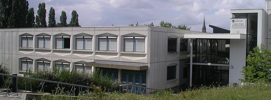 Le collège public Bourgchevreuil