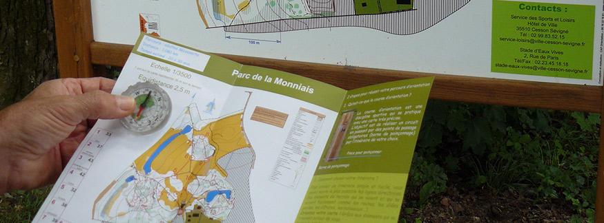 Parcours permanent d orientation ville de cesson s vign for Piscine cesson