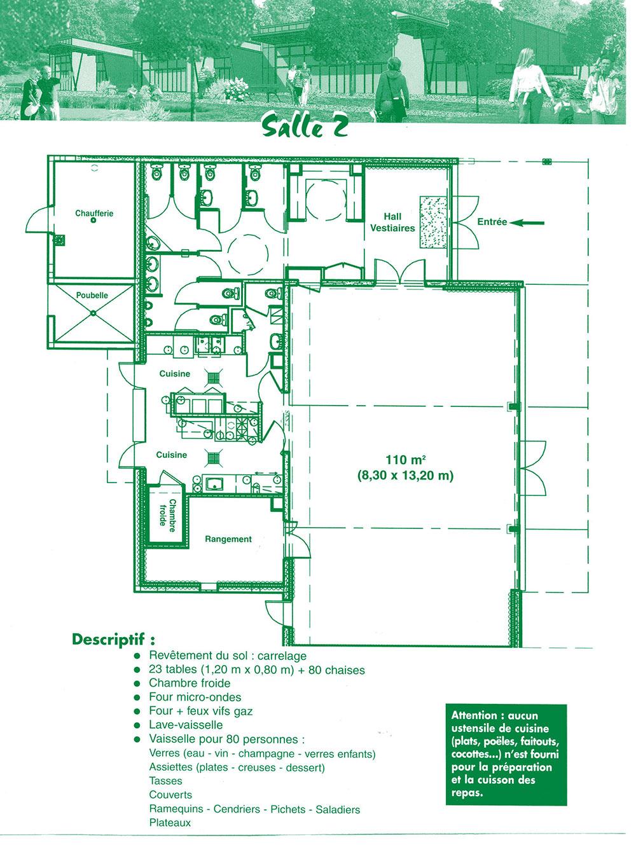 Salle n 2 espace de gripp route de la valette ville for Piscine cesson sevigne