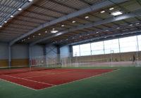 Inauguration de la nouvelle salle de tennis