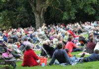 Vidéo et photos de l'opéra la Cenerentola parc de la Monniais