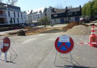 Travaux rue des Ecoles – Réaménagement du parking
