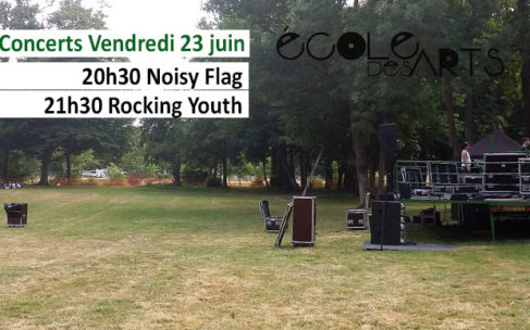 Concerts vendredi 23 juin : Noisy Flag et Rocking Youth