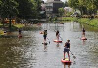 Vidéo – Le paddle à la Base Sports Nature !