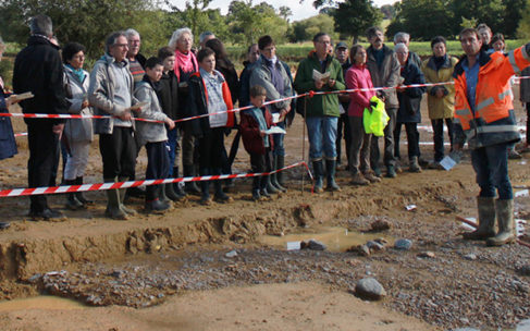 2500 visiteurs sur le site archéologique de Cesson-Sévigné