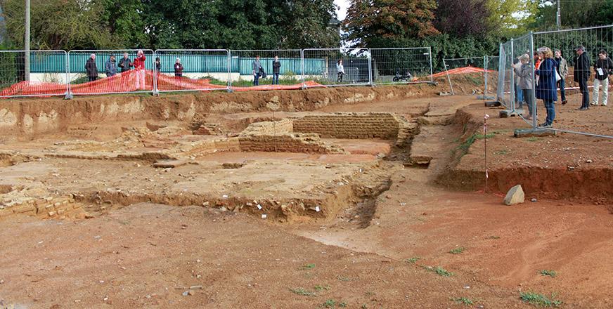 2500 visiteurs sur le site arch ologique de cesson s vign for Piscine cesson sevigne