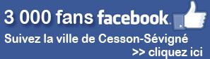 Logo Facebook ville de Cesson-Sévigné