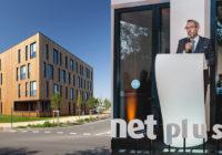 Nouveau siège pour Net Plus à la Rigourdière