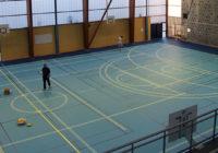 Un nouveau parquet à la Halle des sports du lycée Sévigné