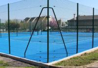 Terrains de tennis de Beausoleil, les travaux se terminent