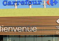 Travaux d'extension du centre commercial Carrefour