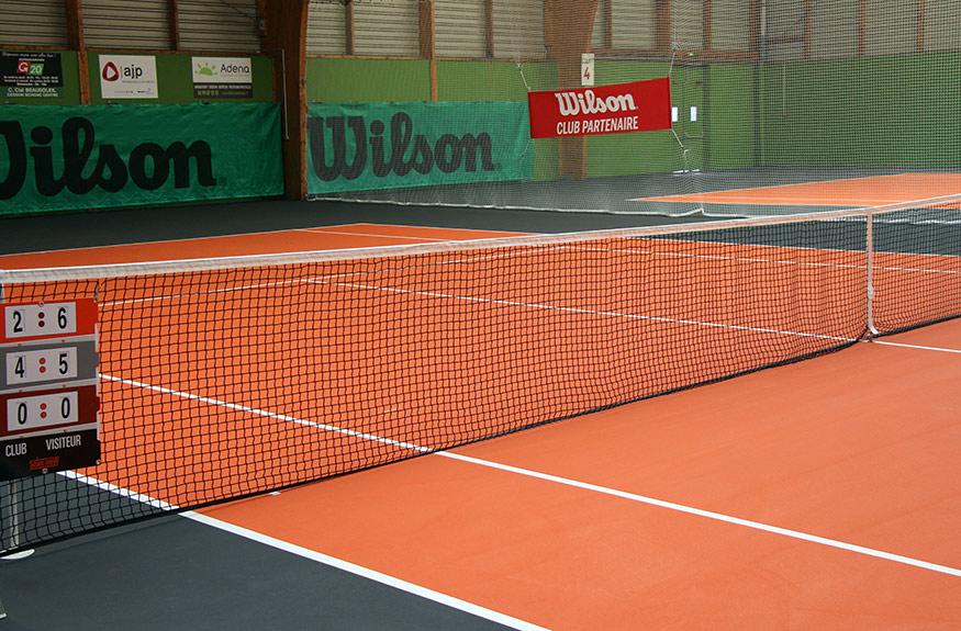tennis r novation des 4 terrains couverts ville de cesson s vign. Black Bedroom Furniture Sets. Home Design Ideas