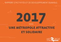 Rapport d'activités et de développement durable 2017 de Rennes Métropole