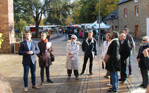 Balade urbaine ZAC Multisite, une soixantaine de participants
