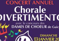 Concert de la Chorale Divertimento le dimanche 13 janvier 2019