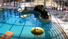 La piscine est fermée (les travaux ne sont pas terminés)