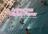 Soirée Aquagym Night Fever à la piscine