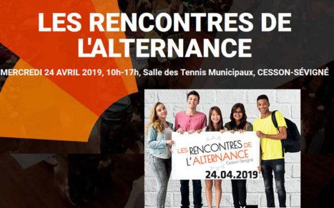 Les rencontres de l'alternance – Mercredi 24 avril 2019