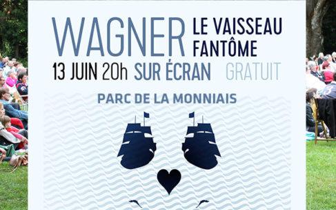 Opéra – Le Vaisseau fantôme de Wagner – Parc de la Monniais