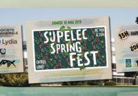 Supélec Spring Fest, le samedi 18 mai
