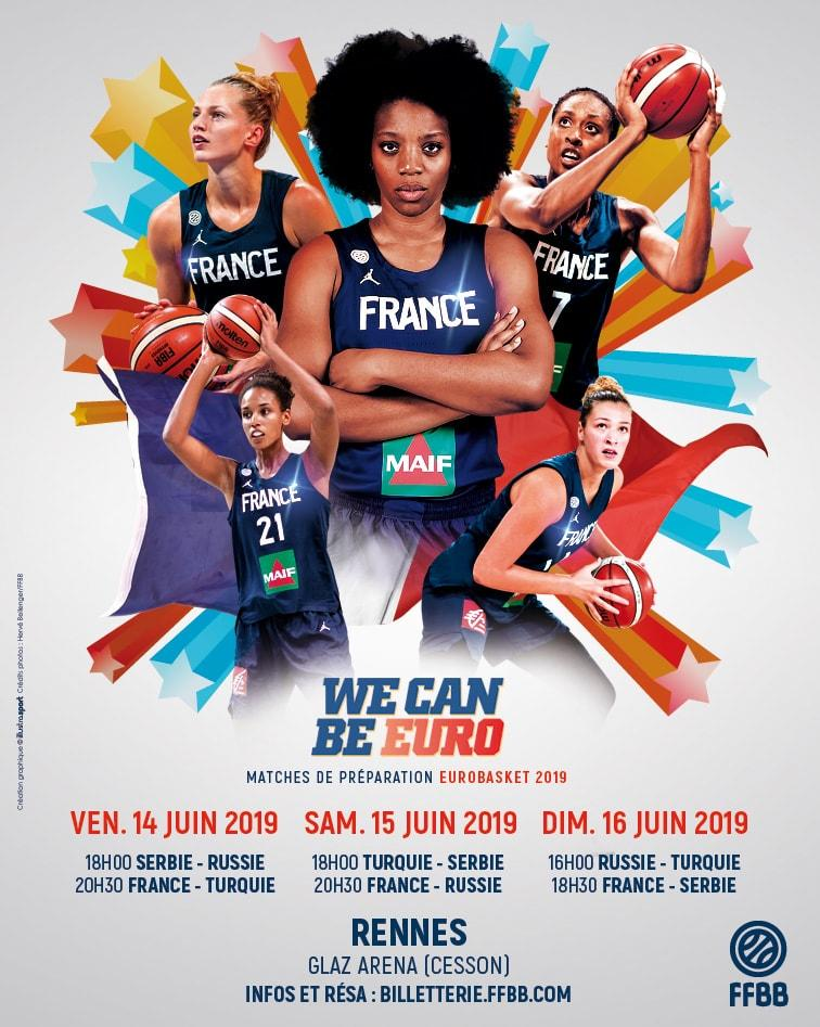 Basket - France / Serbie (Glaz Arena)