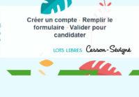 43 LOTS LIBRES – Les candidatures sont closes depuis samedi 18 mai 2019 à 20h