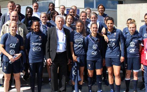 Le Maire accueille l'équipe de France à Dézerseul – 10 photos de l'entraînement
