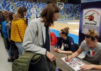 Basket – L'équipe de France féminine est arrivée à Cesson-Sévigné