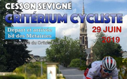 Critérium cycliste bvd des Métairies