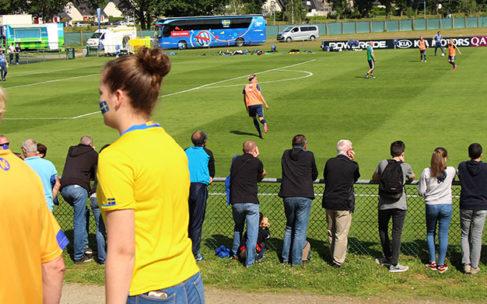 L'équipe de Suède remercie Cesson-Sévigné