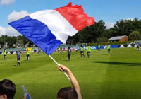Vidéo – L'équipe de France de football à Cesson-Sévigné