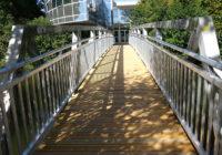 Rénovation de la passerelle du parc du Pont des Arts