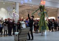 Vidéo – Carrefour (la Rigourdière), inauguration de la galerie marchande