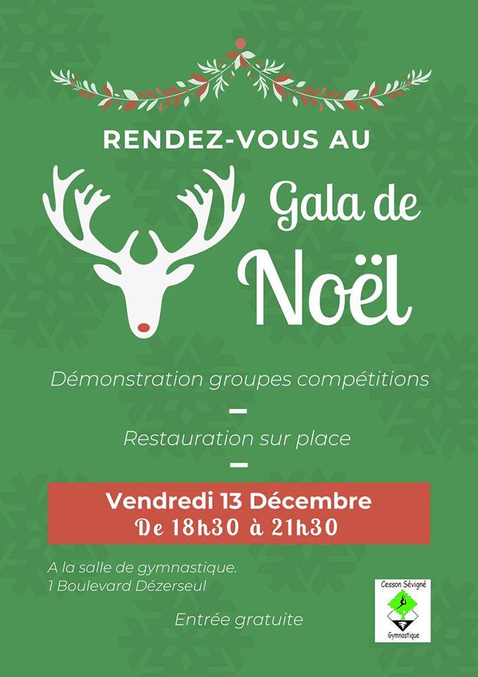 Gala de Noël - OCC Gymnastique
