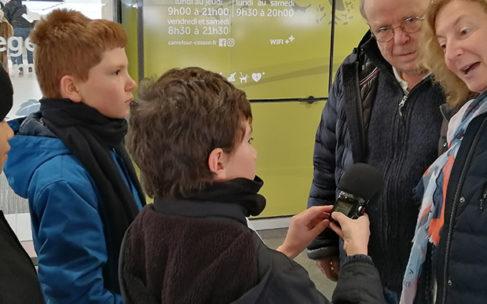 Reportage-radio : Pour toi, c'est quoi Noël ?