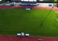 Vidéo – Le stade municipal vu d'un drone