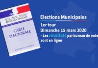 Elections Municipales – Les résultats par bureau de vote