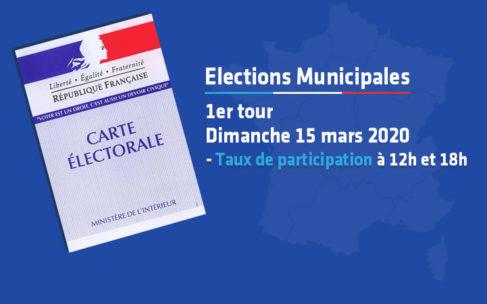Elections Municipales – Taux de participation à 18h