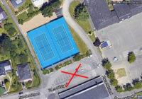 Travaux à Beausoleil – Fermeture du parking situé devant les terrains de tennis