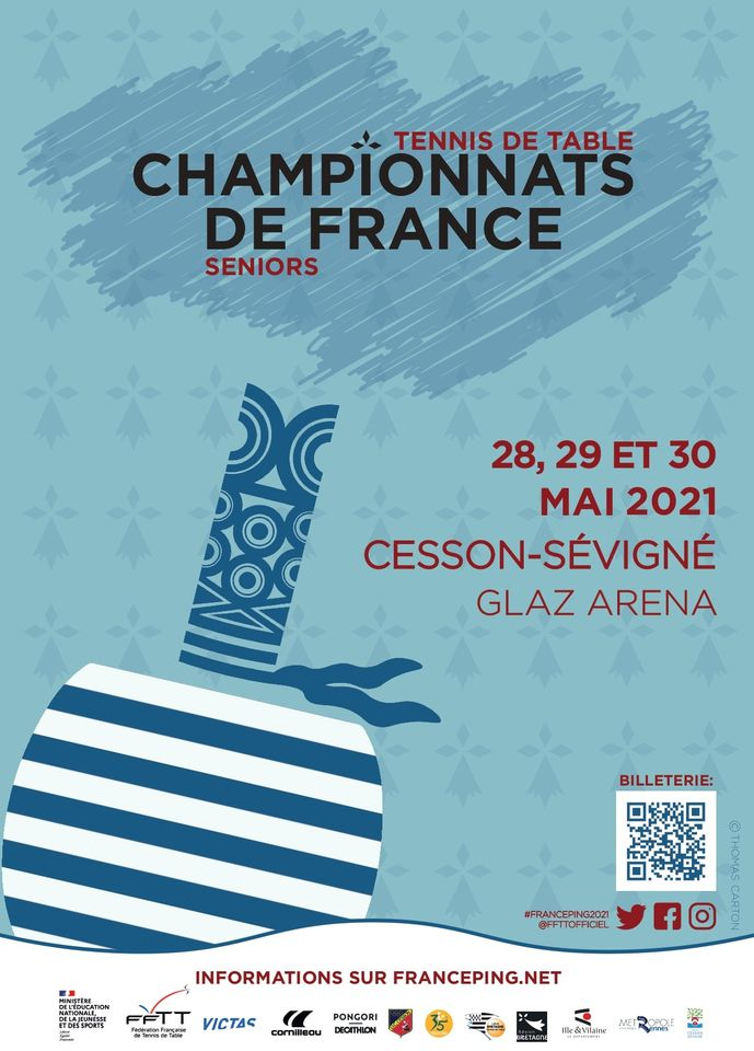 Tennis de Table – Championnats de France (Glaz Arena)