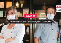 Covid-19 – Une aide d'urgence pour les entreprises, les commerces et les artisans