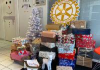 190 boîtes de Noël collectées par les Rotary Clubs Rennais