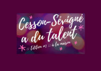 Cesson-Sévigné a du talent – Inscription en ligne