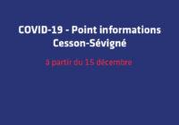 Covid-19 : Ce qui change à partir du 15 décembre