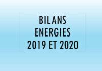 Bilans énergétiques 2019 et 2020 de la Ville
