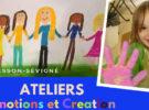 Ateliers Emotions et création pendant les vacances d'été