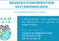 OCC Sophrologie – Séances d'informations (Visioconférence)